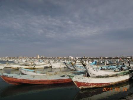 ヌアディブ零細漁港