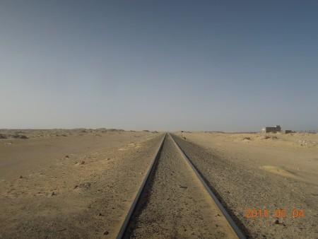 砂漠の鉄道