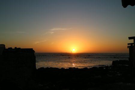 アルマジ岬より夕日を望む(縮小)